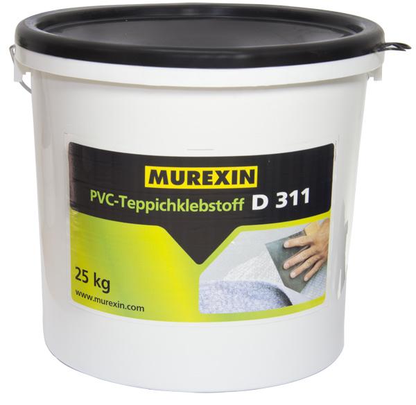 Klej dowykładzin PVC Murexin D 311'