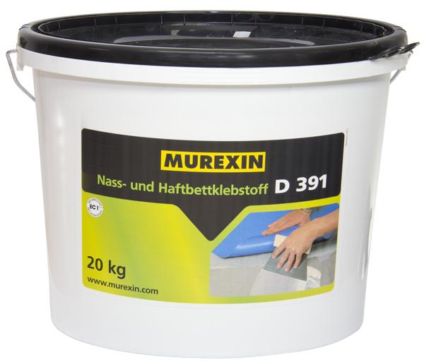 Klej dowykładzin PVC Murexin D 391'