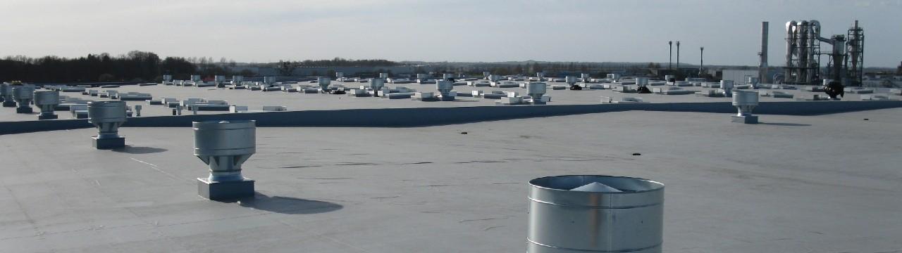 Projektowanie dachów płaskich